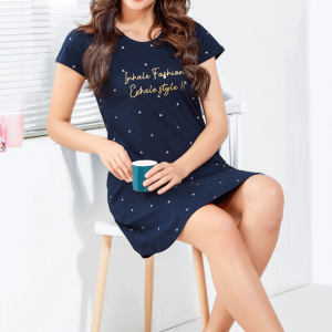 Women Navy Blue Mid Length Gowns