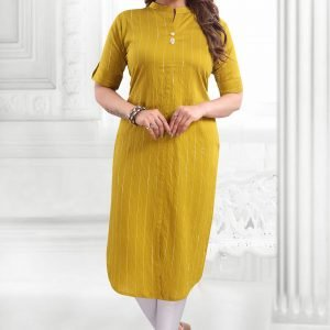 Decent Kurti With Stand Neck